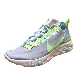 NWT Nike React Element 55 White/Frosted Spruce 8